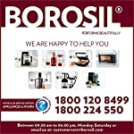 Borosil BSM70NDG13 700-Watt 2-Slice Sandwich Maker (Silver)