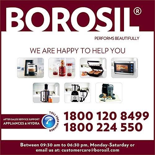 Borosil Health Pro BSJU20WB13 200-Watt Slow Juicer (Black)
