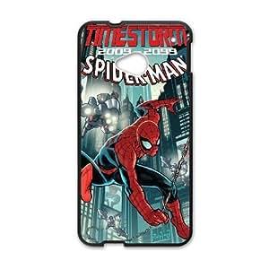 HTC One M7 phone case Black Marvel comic SSPP4853012