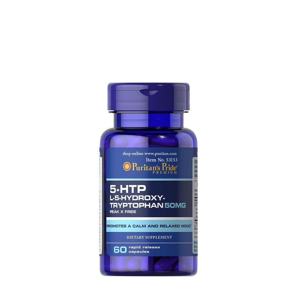 TRIPTOFANO 5 htp (HidroxiTriptofano) 50 mgrs 60 cps Serotonina ...