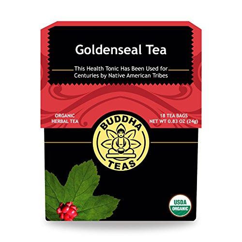 Organic Goldenseal Herb Tea Caffeine Free