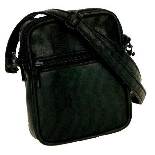 Giunto tasca 1710Handgelenktasche foto borsa con tasca Custodia Nero ca. 12x 15,0x 4,0cm