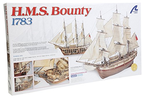 10 1/48 Hms Bounty Model Building Kit (Latina Wooden Ship Model)