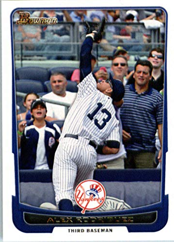 (2012 Bowman #63 Alex Rodriguez Yankees MLB Baseball Card)
