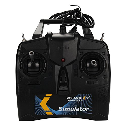 Costzon Volantex 6CH Flight Simulator Fly Game For RC Airplane Helicopter w/USB & Disk