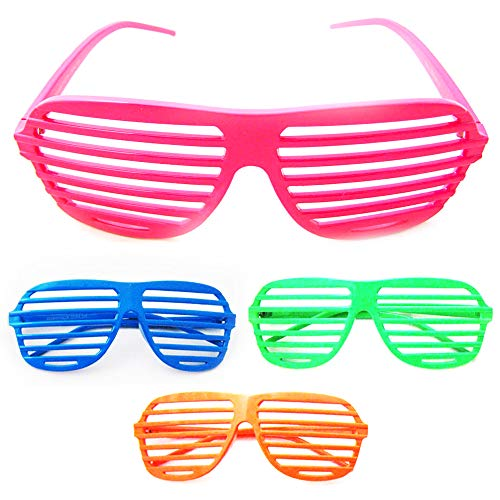 (Vintage Shutter Shades Sunglasses Retro Glasses Party Supplies Novelty Fashion)