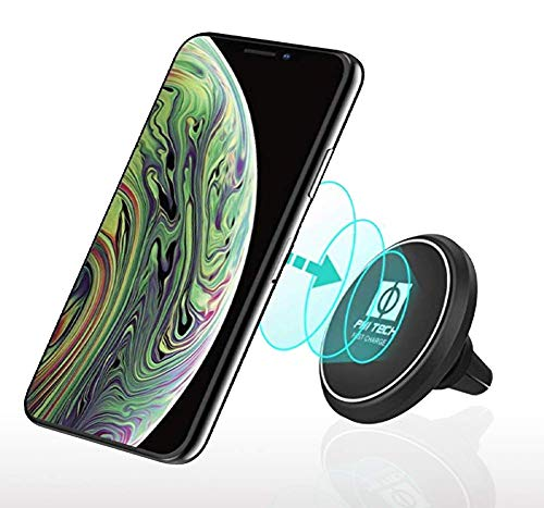Fast Magnetic Wireless Car Charger Mount and Holder/Qi Enabled/Air-Vent Accessible for Iphone XS Max/XS/XR/X/8/8 Plus, Samsung Galaxy S8/S7/S7 Edge/Note 8