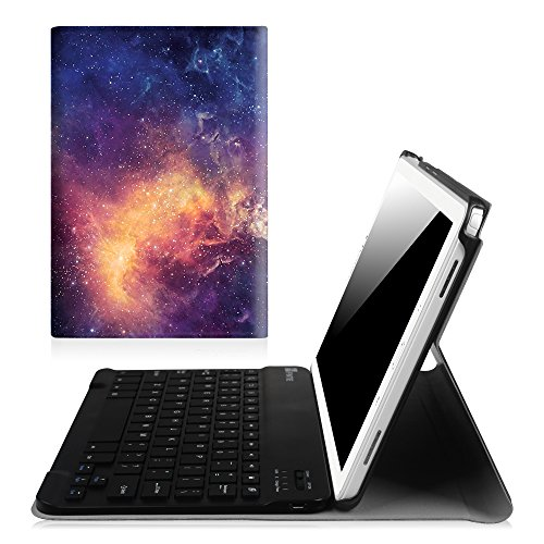 Fintie Keyboard Case for Samsung Galaxy Tab A 10.1 with S Pen, Slim Shell Light Weight Stand Cover with Detachable Wireless Bluetooth Keyboard for Galaxy Tab A 10.1 with S Pen(SM-P580/P585), Galaxy