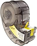 Brady XSL-30-427 Idxpert 1.5'' Height, 0.75'' Width, B-427 Self-Laminating Vinyl, Black On White And Translucent Color Label (250 Per Cartridge)