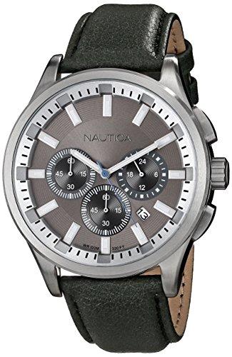 Nautica Men's N16693G NCT 17 Analog Display Quartz Grey Watch