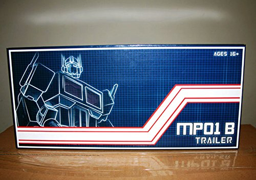Transformers Black Trailer With Roller & Gun For MP-01B Optimus Prime - Transformers Optimus Prime Gun
