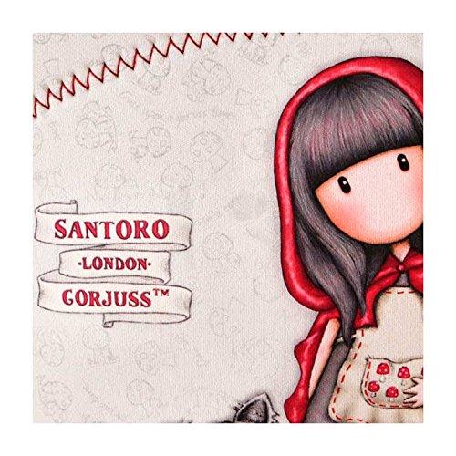 SANTORO Gorjuss piccolo Cappuccetto Rosso Neoprene Borsa pranzo