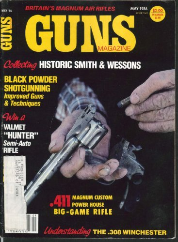 GUNS Smith & Wesson Black Powder Shotgun Valmet Hunter British Magnum Air 5 1986