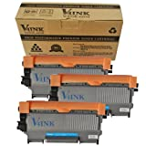 3 Pack V4INK ® New Compatible Brother TN450 Toner Cartridge-Black, Office Central