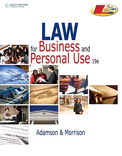 law for business and personal use - 1
