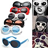 Remiel Store Unisex Classic Thin Fashion Aviator Mirror Lens Sunglasses (L)