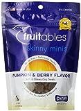 Fruitables Skinny Minis Pumpkin & Berry Soft & Chewy Dog Treats
