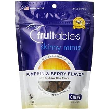 Amazon.com : Fruitables Pumpkin & Mango Skinny Mini Dog