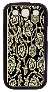 Protector Case For Samsung Galaxy S3 shepard-fairey-flower-vine PC Black Hard Case Cover for Samsung Galaxy S3 SIII