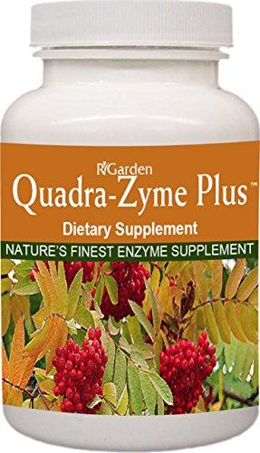 R-Garden Quadra-Zyme Plus, 180 caps.