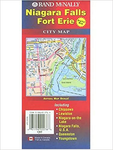 Niagara Falls Canada Maps 9780886402761 Amazon Com Books