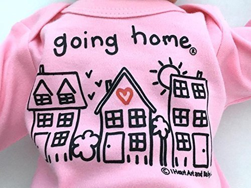 Brand New Baby Onesie  Baby Coming Home Outfit  NICU Baby Boy Girl Onesie  Baby Shower Gift  Boy Girl Take Home Onesie  Hospital Outfit