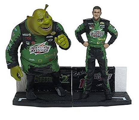 ACTION MCFARLANE NASCAR HOBBY SERIES 2 DRIVER BOBBY LABONTE ACTION FIGURE