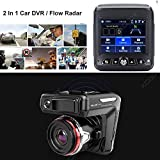 Radar Detector, 2018 New CAR Speed Trap Detector, with HD DVR Dash CAM, 2 in 1 HD Dash CAM by SMART TECH