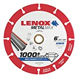 Lenox Tools 1972923 METALMAX Diamond Edge Cutoff Wheel, 6'' x 7/8''
