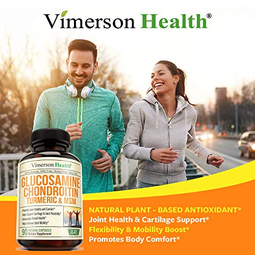 Glucosamine with Chondroitin Turmeric MSM Boswellia Supports Occasional Joint Pain Relief Helps
