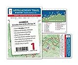 Appalachian Trail Map AT-1 Georgia AT Pocket Profile