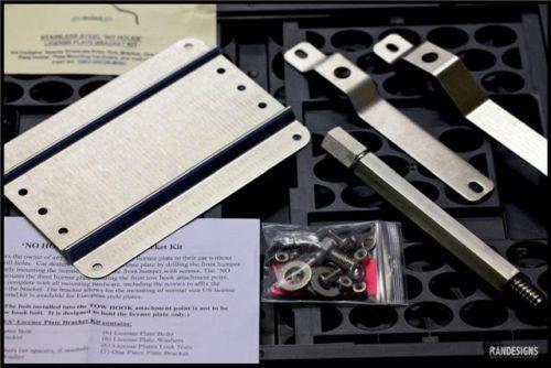for Older Models- 997 996 993//987 986 NO Holes License Plate Bracket for Porsche Sports Cars