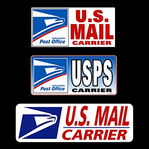 U.S. Mail Delivery Sign Rural Carrier USPS - Decal or Magnet