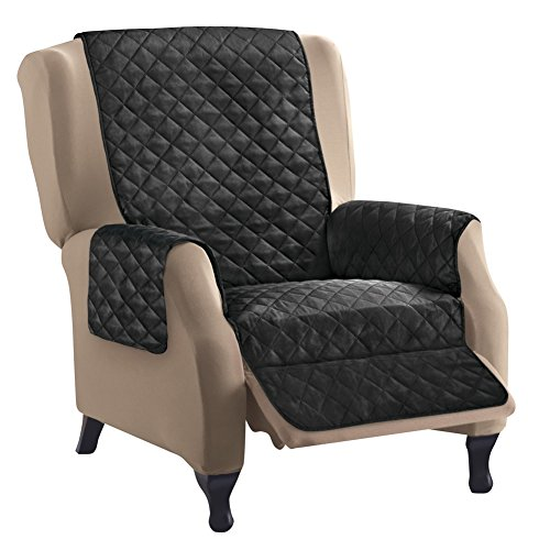 Reversible Quilted Furniture Protector Recliner