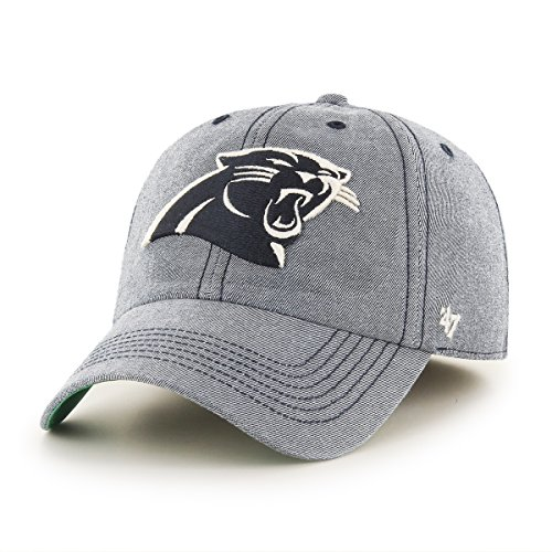 NFL Carolina Panthers Colfax Franchise Fitted Hat, Small, Undertow