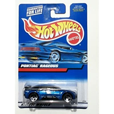 Hot Wheels Pontiac Rageous 2000 119 Variant Card, China Base: Toys & Games