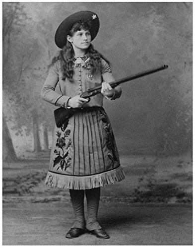Photo Art Print ~ Famous Historic Picture: ANNIE OAKLEY Sharpshooter (11