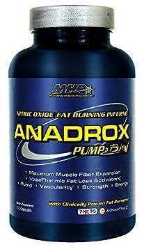MHP Anadrox Pump Burn, Nitric Oxide Fat Burning Inferno, 112 capsules by Maximum Human Performance