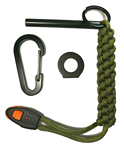 D Amp A 6 In 1 Survival Large Firesteel Ferro Rod Magnesium