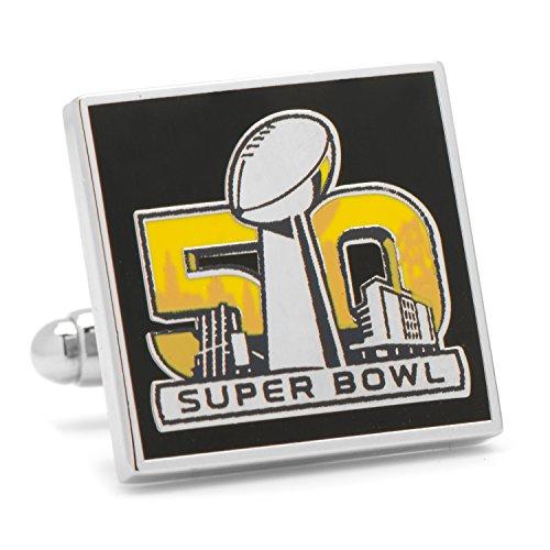 Commemorative Cufflinks - Cufflinks NFL Super Bowl 50 Commemorative, Officially Licensed