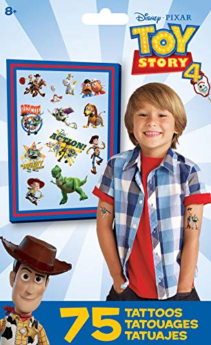 Trends International Toy Story 4- Tattoo Bag 75 Ct]()