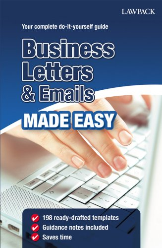 Business Letters And Emails Made Easy Pdf