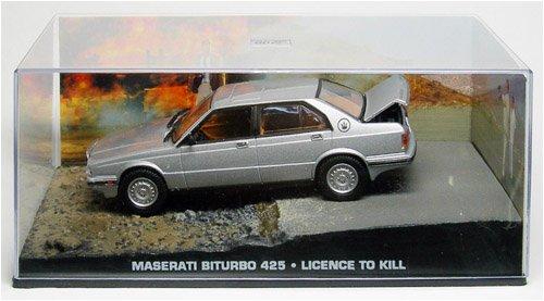1/43 007 ボンドカー Maserati Biturbo 425 消されたライセンス B002PHISB4