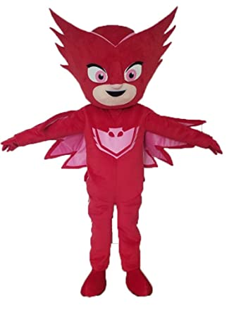Aris pj Masks Costumes Owlette Costume pj mask Mascot Cartoon Mascot for Kids Party