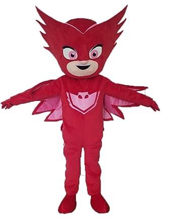 Aris pj Masks Costumes Owlette Costume pj mask Mascot Cartoon Mascot for Kids Party