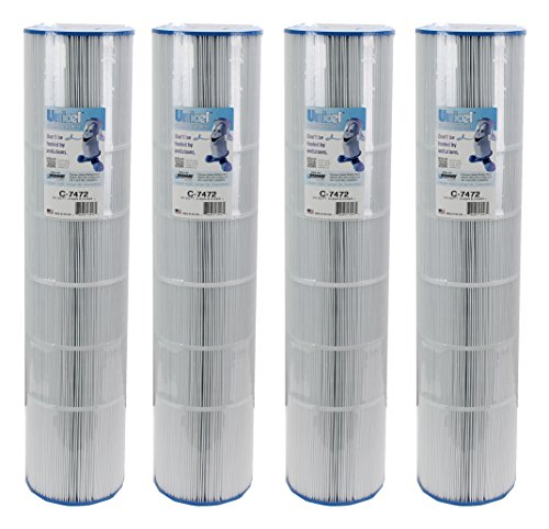 4 Pack New Unicel C-7472 Clean & Clear 520 Cartridge Filters PCC130 FC-1978