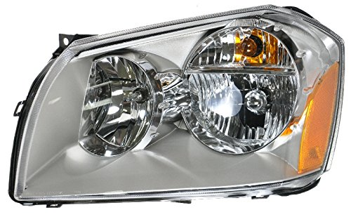 Headlight Headlamp w/ Chrome Housing Driver Side Left LH for 05-07 Dodge Magnum