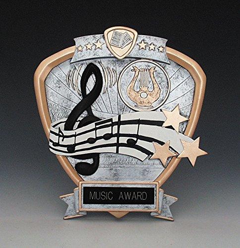 Music Treasures Co. Cast Acrylic Pewter Award