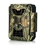 Hunting Trail Game Wildlife Camera, LDesign 12MP 1080P Night Vision 42PCs IR LEDs IP64 Waterproof HD with Wide Angle Infrared 90 Degree PIR distance 15m,0.8's Trigger Time&Multi Working Modes