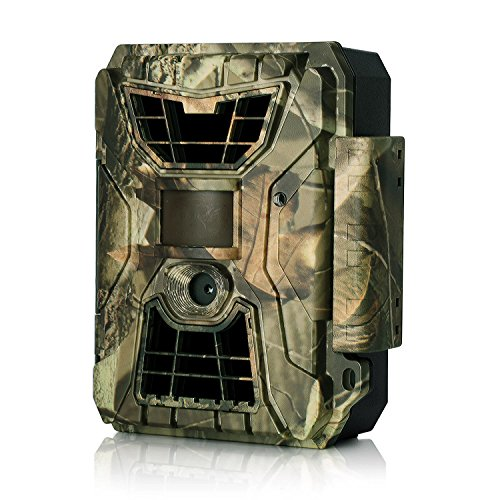 LDesign Hunting Trail Game Wildlife Camera, 12MP 1080P Night Vision 42PCs IR LEDs IP64 Waterproof HD with Wide Angle Infrared 90 Degree PIR Distance 15m,0.8's Trigger Time&Multi Working Modes by LDesign